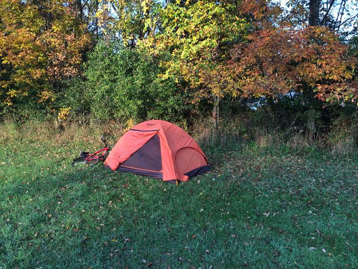 Camping in Tilleda