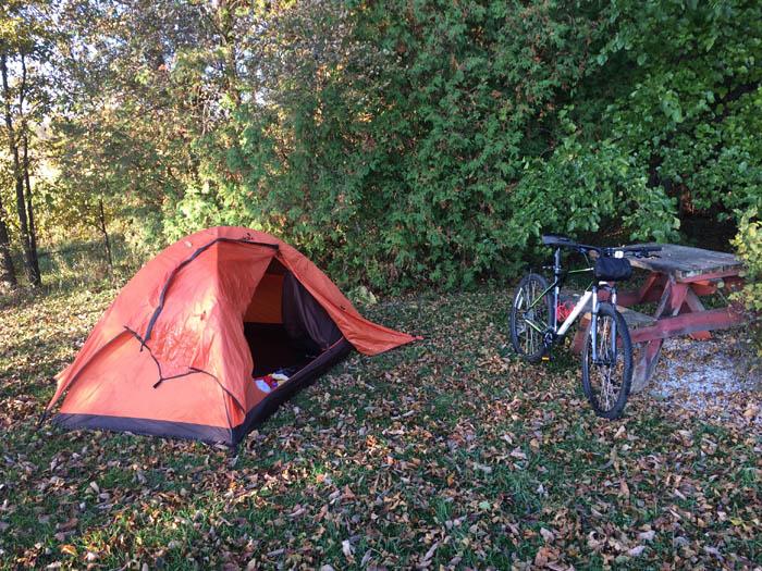 Tisch Mills Campground Wisconsin