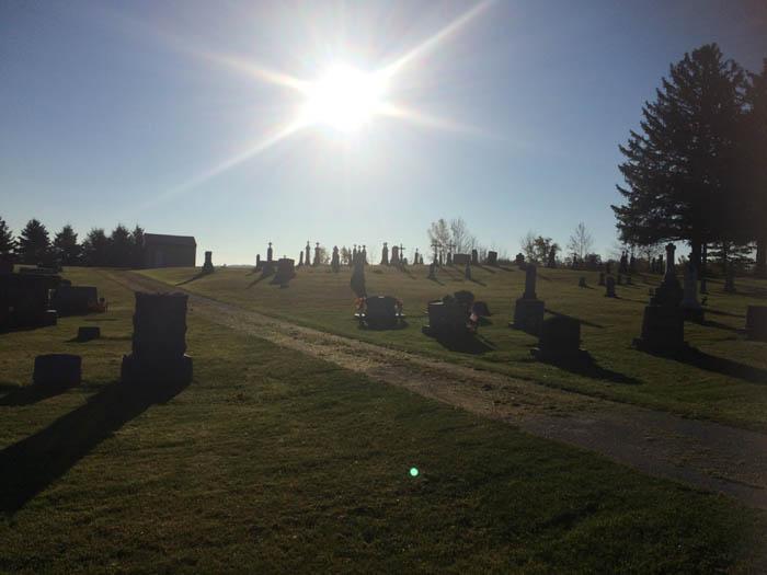Tisch Mills Cemetery Wisconsin