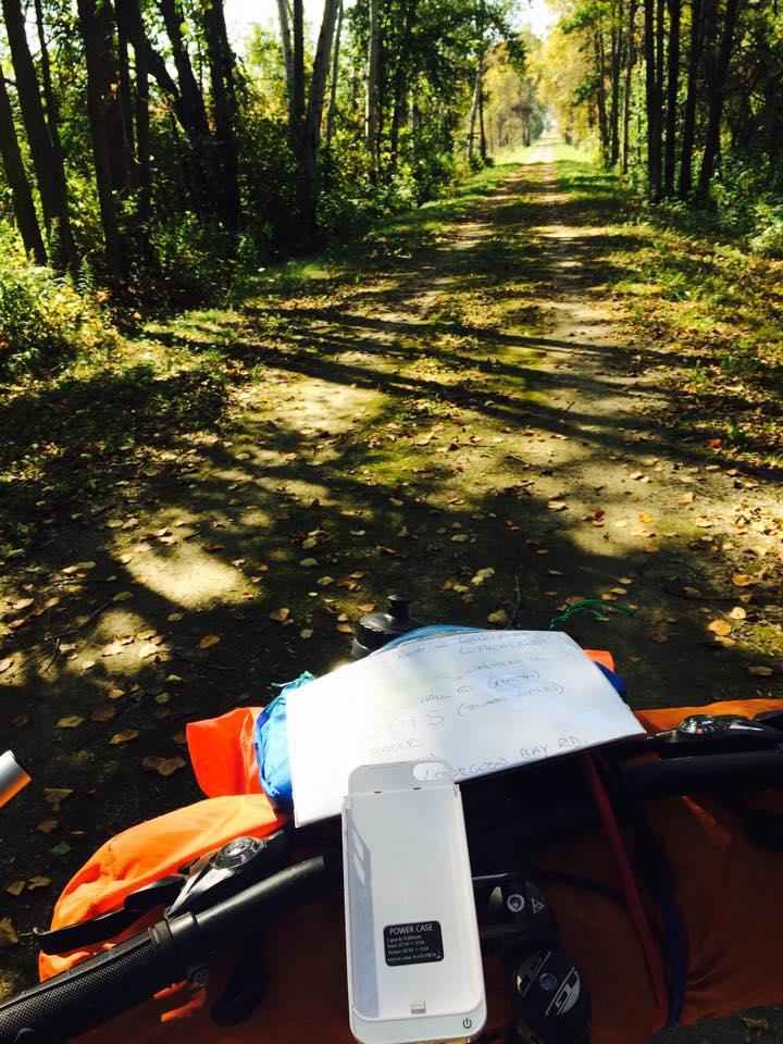 fall biking in wisconsin