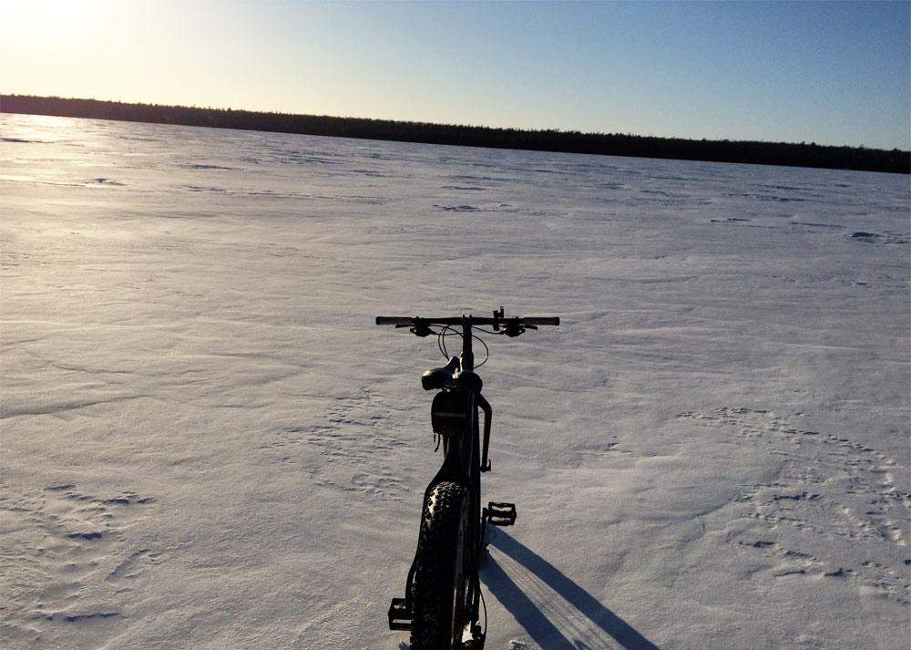 Bike in door county
