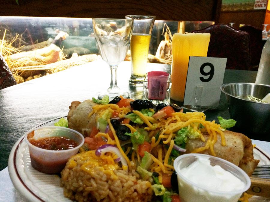 grouse-dinner